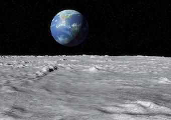 Wall Mural - moon surface