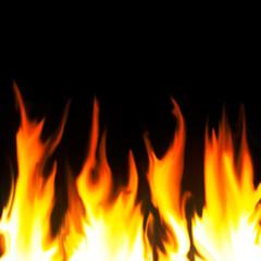 Staande foto Vlam Fire Background