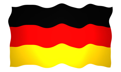 Flagge - Bundesrepublik Deutschland