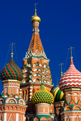 Wall Mural - St Basil Cathedral in Moscow