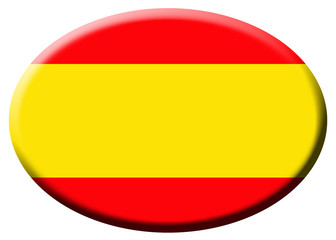 Bandera española oval