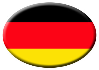 Bandera alemana oval.