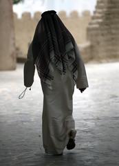 Mann in orientalischer Bekleidung