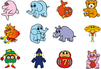 vector animal and other charactors #1