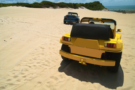 Dune Buggies iun genipabu, Natal Brasil