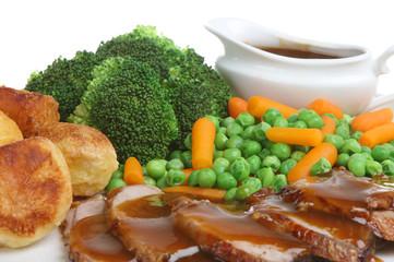 Sunday Roast Lamb Dinner