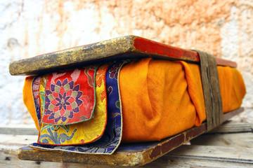 old prayer tibetan book