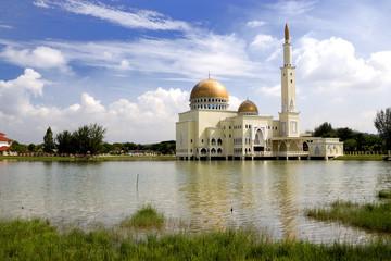 Golden Floating Mosque