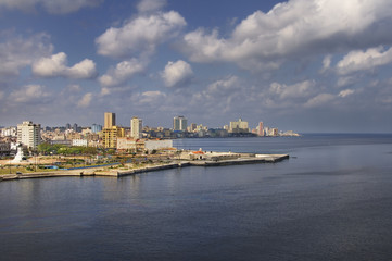 Havana bay view
