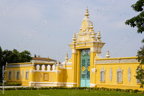 Fototapete Cambodian Royal Palace Gates