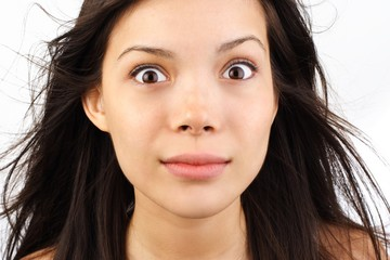 Leinwandbilder - woman staring