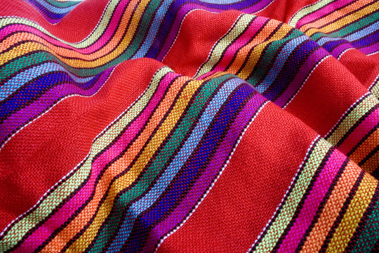 Mexican traditional fabric
