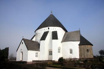 Round Church østerlars, Bornholm Denmark
