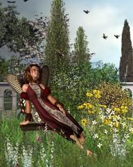 Garden Butterfly Fairy - 1