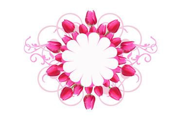 motivo tulipani