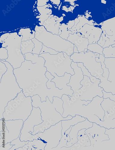 Deutschland Karte Flusse Und Gebirge.Deutschlandkarte Flusse Stockfotos Und Lizenzfreie Bilder
