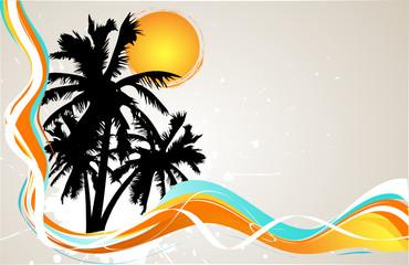palmtrees background