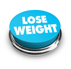 Lose Weight - Blue Button