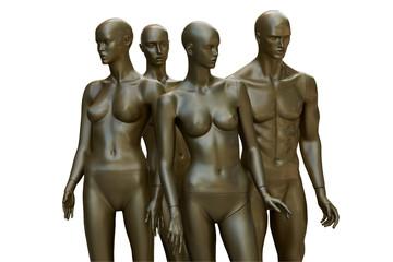 Mannequins of future