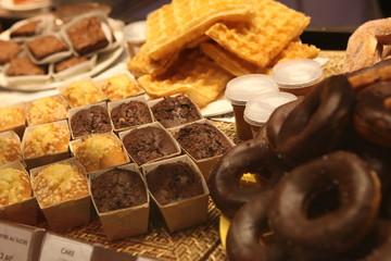 Bäckereiauslage