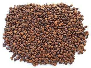 un tas de café