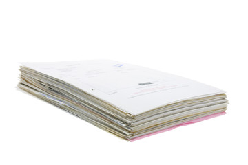 Stack of Business Documents