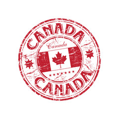 Canadian rubber stamp