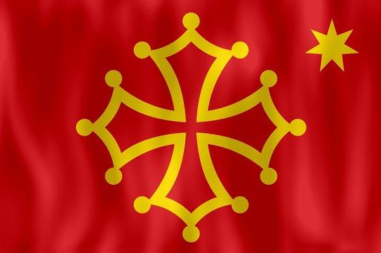 drapeau occitan occitanie flag of occitania