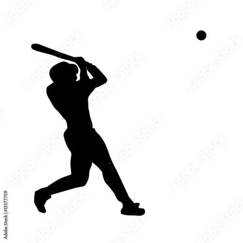 baseball player vector silhouette stock image and royalty free rh fotolia com baseball player vector art baseball player victor pellot power