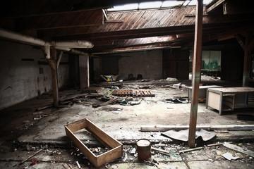 Alte Fabrik / werkhalle / Scheune