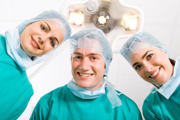 happy doctors