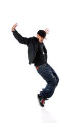 Breakdancer Performing