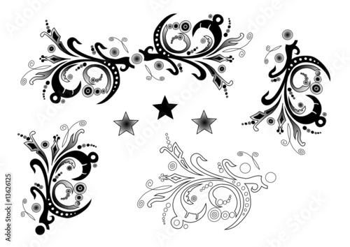 tribal muster ornamente stockfotos und lizenzfreie vektoren auf bild 13626125. Black Bedroom Furniture Sets. Home Design Ideas