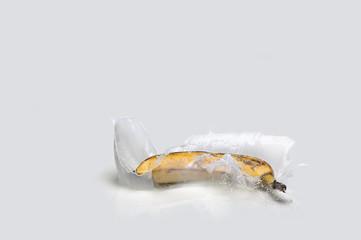 Banana milk splash