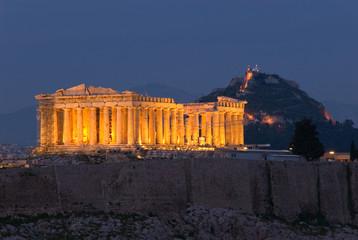 Parthenon at Twilight