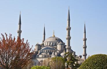 """Famous """"Blue"""" mosque"""