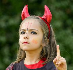 mise en garde du petit diable fâché