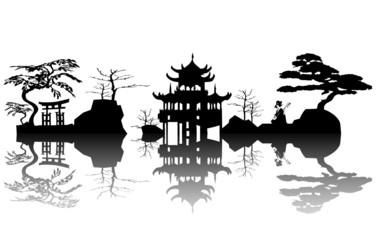 landscape asian