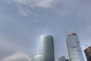 Housebuilding business center Moscow-City
