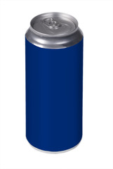 blue drink can