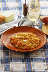 Risotto al formaggio Taleggio e zucca - Primi Lombardia
