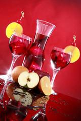 Fruit punch or Sangria