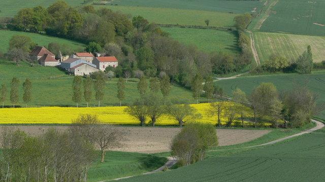 paysage du Bourbonnais