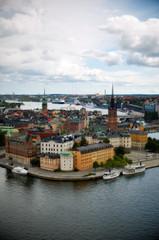 Riddarholmen island at Stockholm