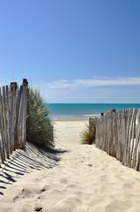 Fototapeta Accès à la plage