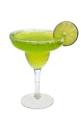 Frozen Margarita, Lime, Isolated