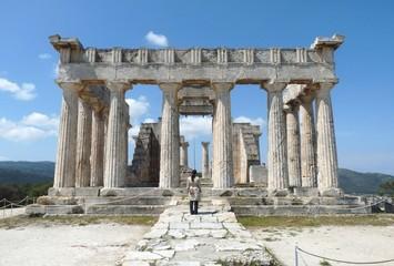 Temple of goddess Afaia