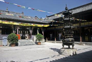 Temple in Taihuai,China
