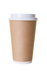 Coffee To Go Cup Isolated