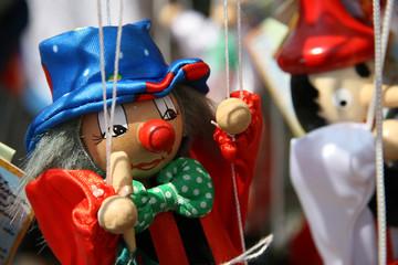 Clown-Marionette